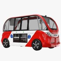 navya bus 3D model