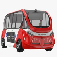3D navya bus