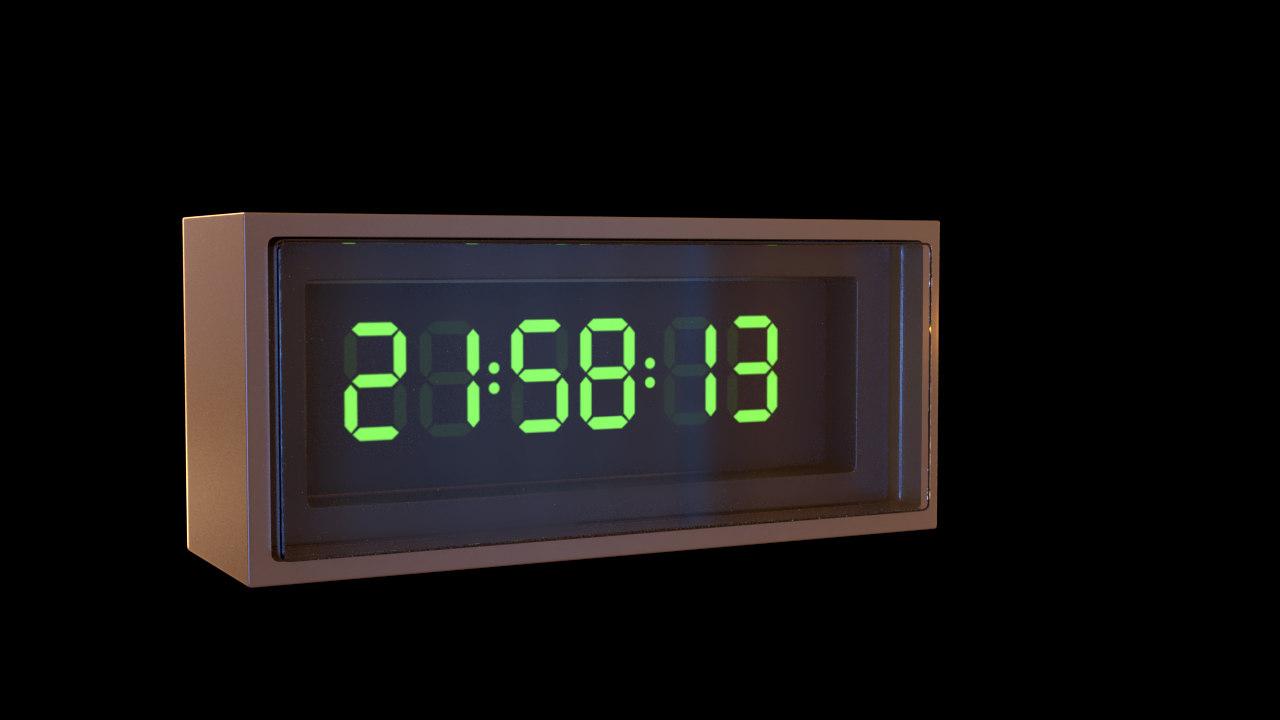 3D digital watch model