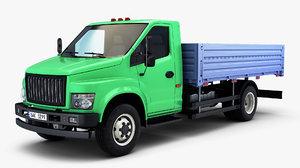3D generic truck medium duty