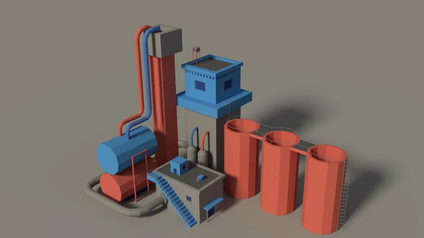 3D factory games