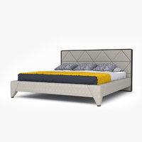 bed trio 3D model
