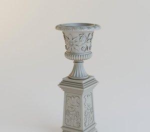 3D column support