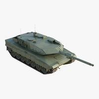 3D tank vehicle