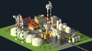 3D factories industrial
