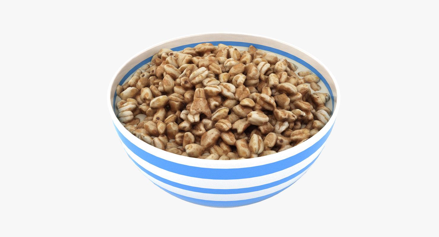 bowl smacks 3D model