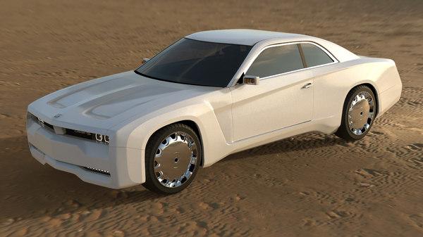 3D concept design model