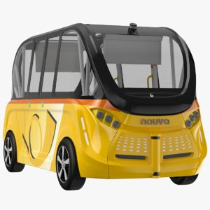 navya bus 3D model