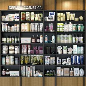 shops pharmacies 3D model