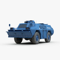 french berliet 170 vbrg 3D model