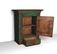 realistic cabinet 3D model