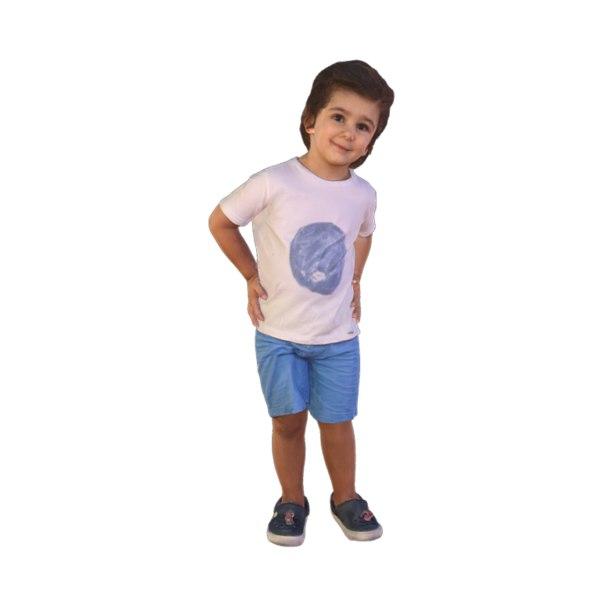 boy scanned 3D model