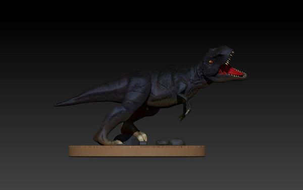 dinosaur rex tyrannosaurus model