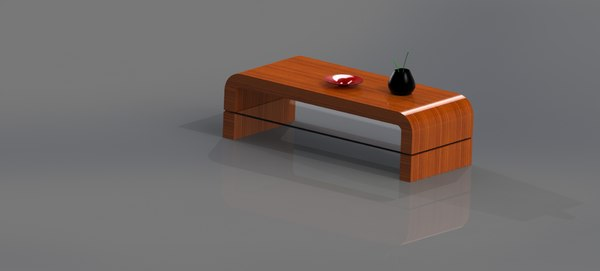 furniture table furnishings 3D