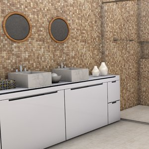 bathroom l039 scene 3D model