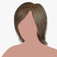 hairstyle 11 hair model