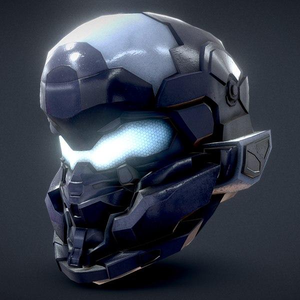 halo jameson locke helmet 3D