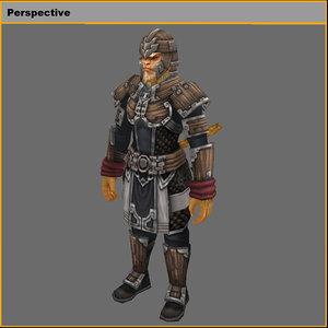 light suits 01 3D model