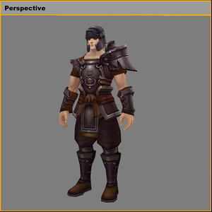light armor set - model