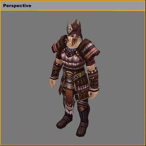 light suit - male 3D