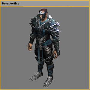 3D light suit - men