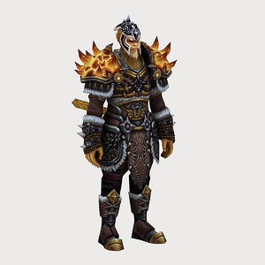 heavy armor set 11 model