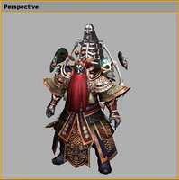 3D model chinese drama actor