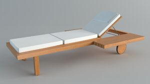 3D chairsoutdoor tribu visa vis model