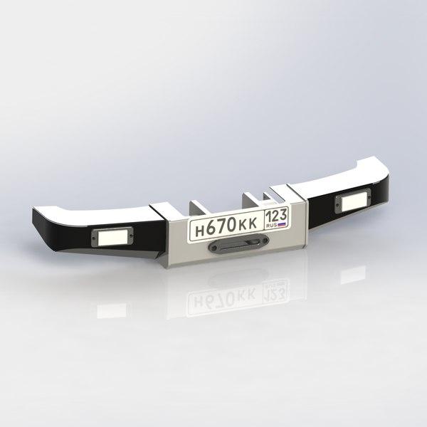 3D power bumper g-klasse