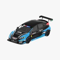 honda civic tcr 3D