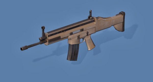 3D fn gun scar