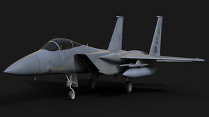 3D f-15c fighter
