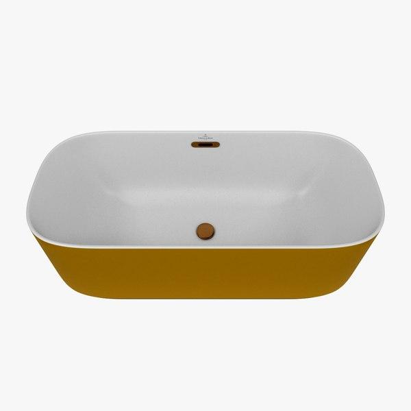 3D bath finion model