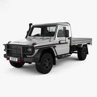 mercedes-benz g-class single 3D model