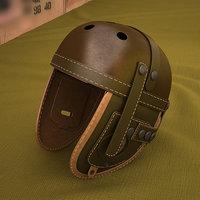 tank helmet ww2 3D model