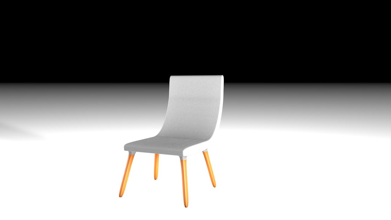 chair architect 3D model