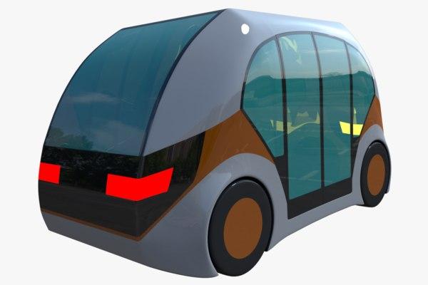 future car 3D