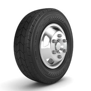truck wheel model