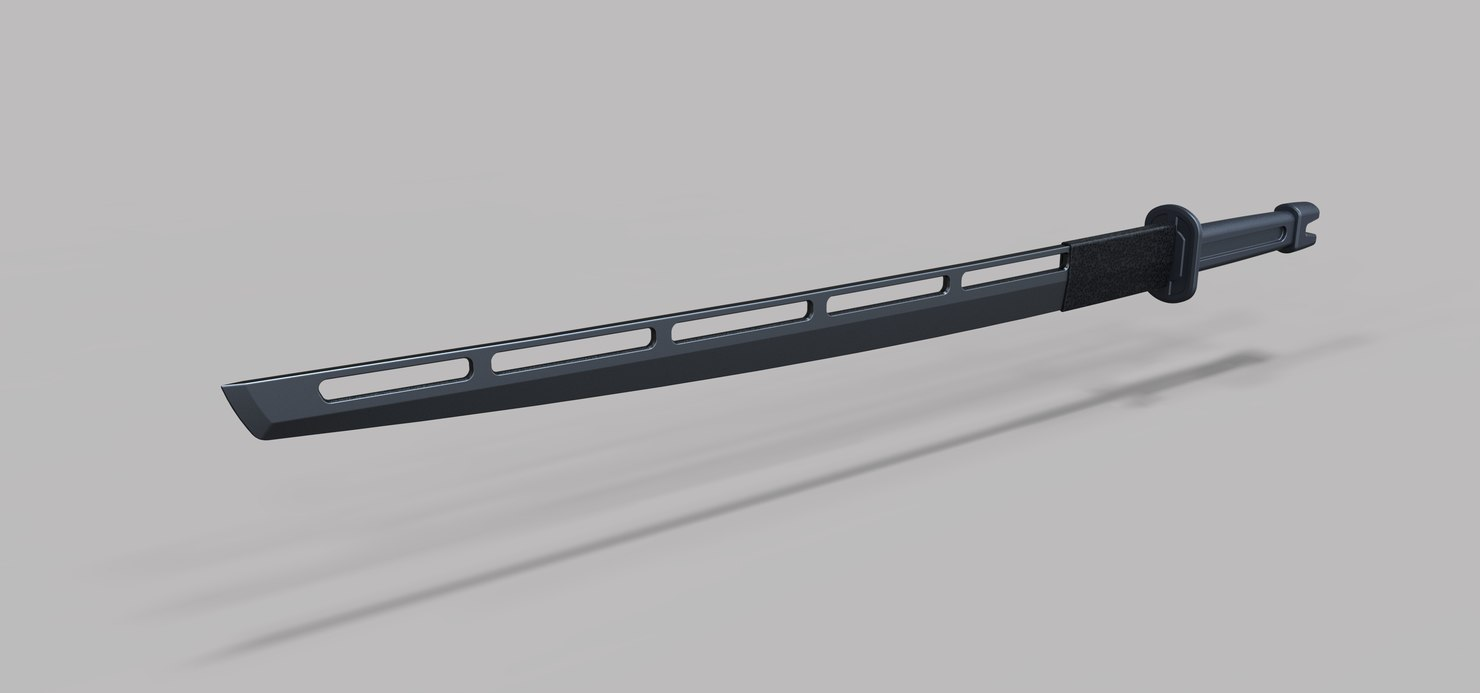3D sword hawkeye model