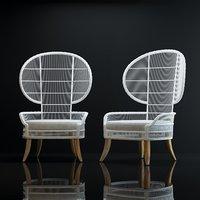 3D aurora-lounge-chair