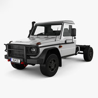 3D mercedes-benz g-class single model