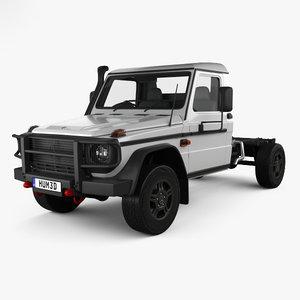 3D mercedes-benz g-class single model