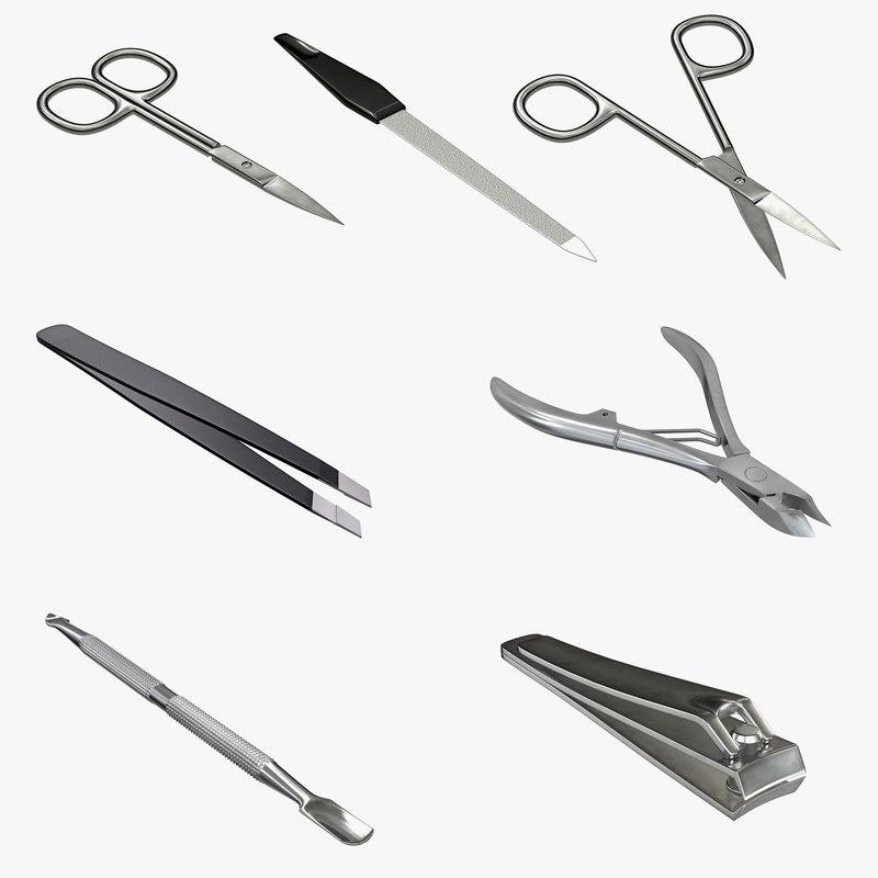 3D clipper tweezer hygiene
