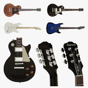 chapman guitars 3D model