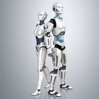 Robots Male and Female