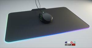 naga mouse 3D model