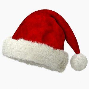 christmas hat v3 3D