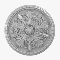 Rose Ceiling Medallion M103