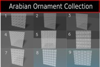 Arabian Decorative pattern Collection