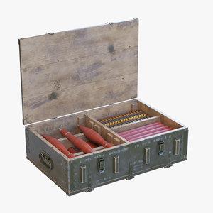 military box 3D model
